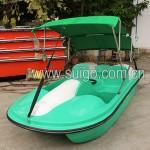 二人电动脚踏船
