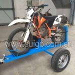 单台摩托车拖车